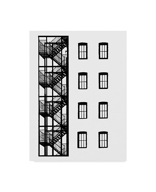 "Trademark Global Jeff Pica NYC in Pure B&W VII Canvas Art - 20"" x 25"""