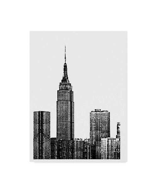 "Trademark Global Jeff Pica NYC in Pure B&W XVIII Canvas Art - 15"" x 20"""