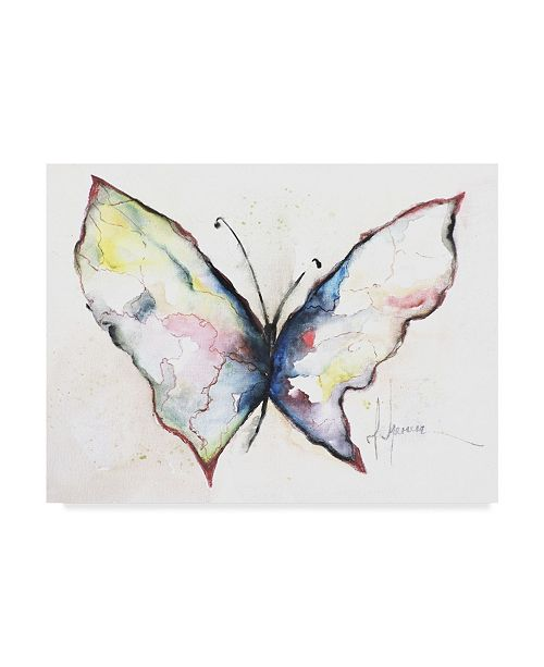 "Trademark Global Leticia Herrera Mariposa II Canvas Art - 20"" x 25"""