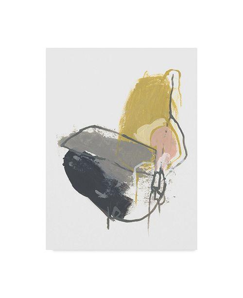 "Trademark Global June Erica Vess Seismic Breakdown III Canvas Art - 20"" x 25"""