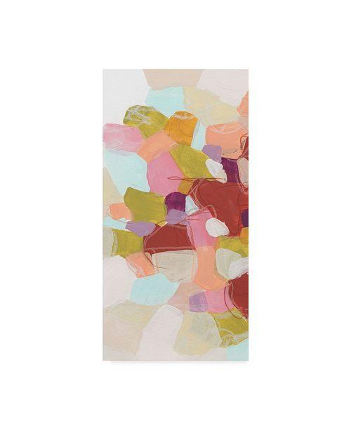 "Trademark Global June Erica Vess Color Cartography II Canvas Art - 20"" x 25"""