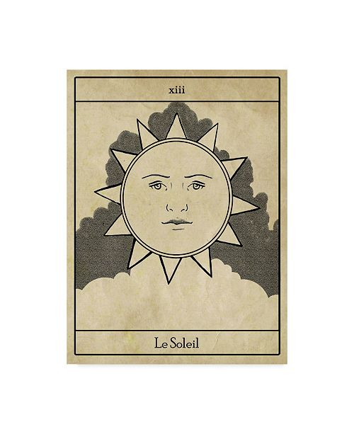 "Trademark Global Emma Scarvey All Hallows Eve Tarot I Canvas Art - 20"" x 25"""
