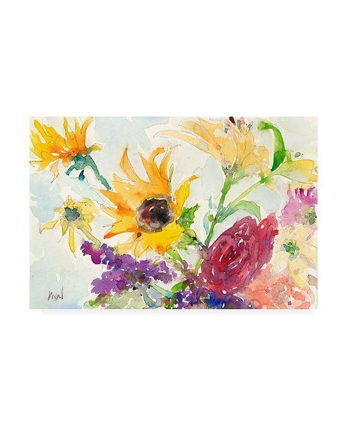 "Trademark Global Samuel Dixon Bright Wild Flowers I Canvas Art - 15"" x 20"""