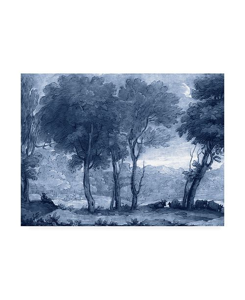 "Trademark Global Claude Lorrain Ua Ch Pastoral Toile I Canvas Art - 37"" x 49"""