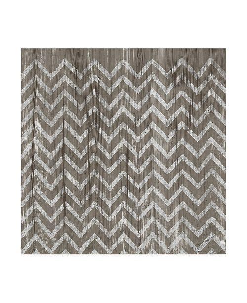 "Trademark Global June Erica Vess Weathered Wood Patterns IV Canvas Art - 20"" x 25"""