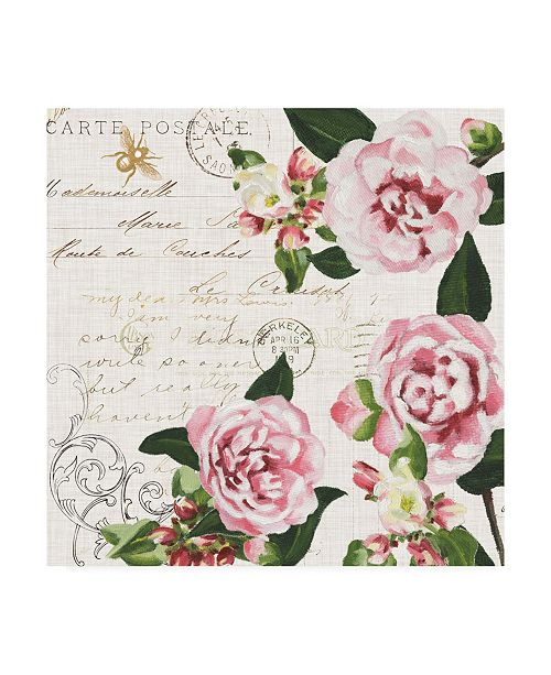 "Trademark Global Dianne Miller Ephemeral Roses II Canvas Art - 20"" x 25"""