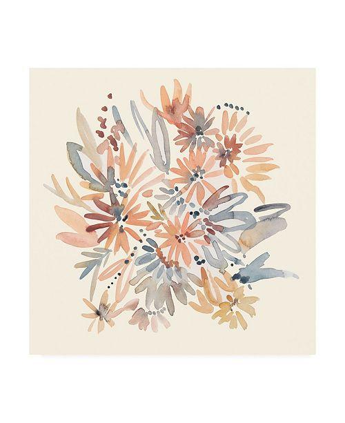 "Trademark Global Chariklia Zarris Wallflowers I Canvas Art - 20"" x 25"""