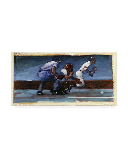 "Trademark Global Bruce Dean Baseball II Canvas Art - 37"" x 49"""