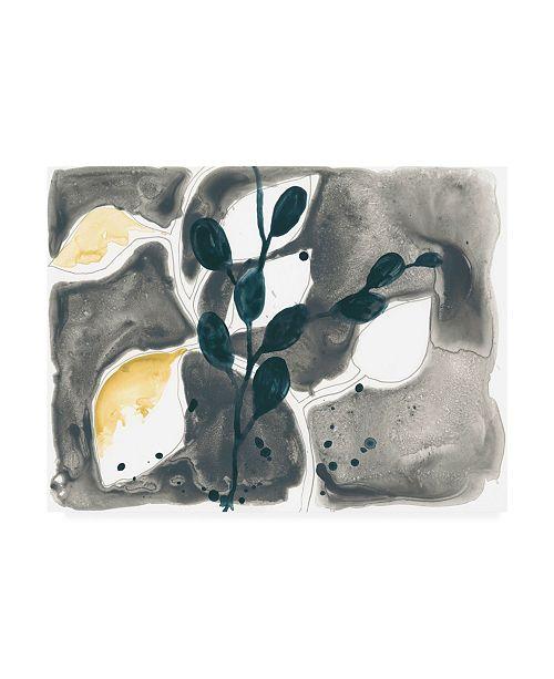"Trademark Global June Erica Vess Navy Garden Inspiration VII Canvas Art - 20"" x 25"""