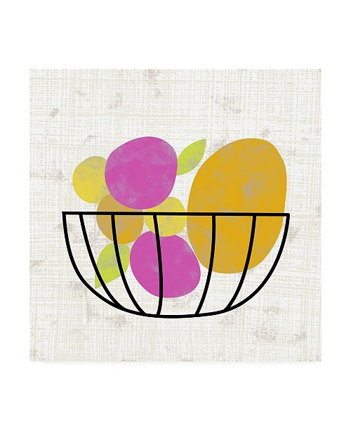 "Trademark Global Chariklia Zarris Fruitilicious III Canvas Art - 15"" x 20"""
