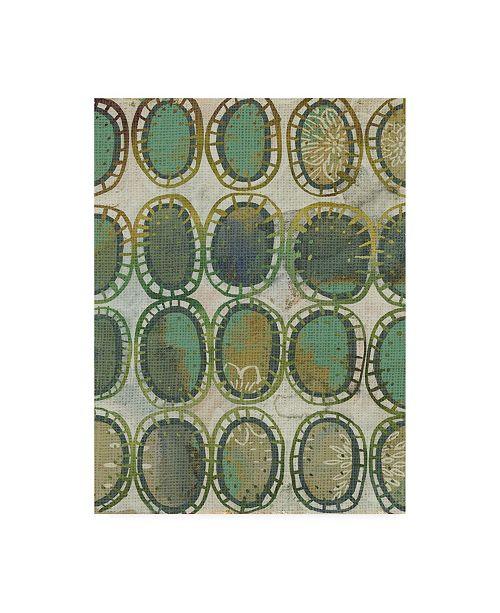 "Trademark Global Chariklia Zarris Jadeite I Canvas Art - 20"" x 25"""