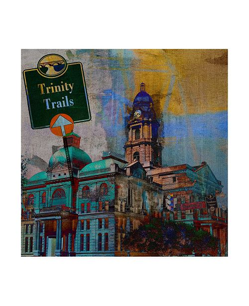 "Trademark Global Sisa Jasper Trinity Trails Ft. Worth Canvas Art - 20"" x 25"""