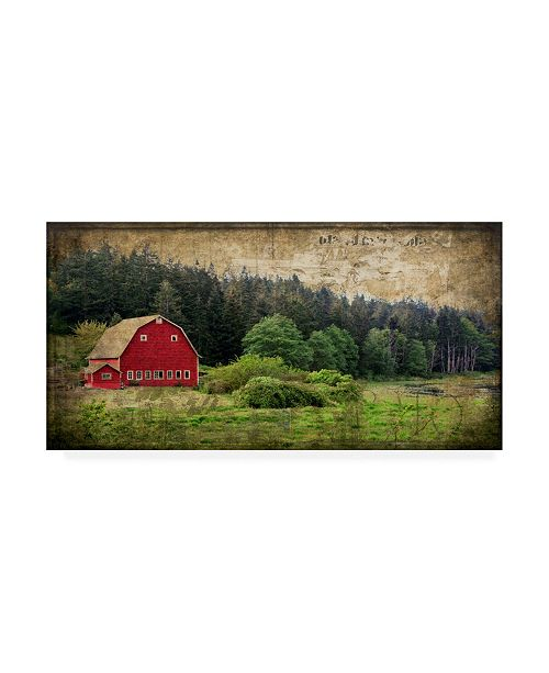 "Trademark Global Rachel Perry Widbys Barn I Canvas Art - 15"" x 20"""