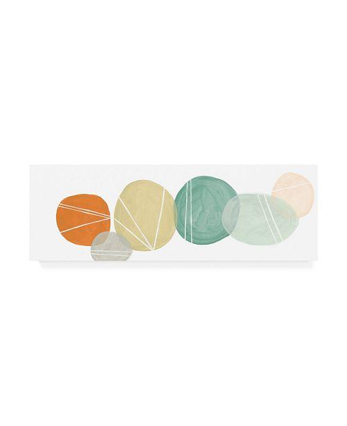 """Trademark Global June Erica Vess 2 Up Interdependent II Canvas Art - 15"""" x 20"""""""