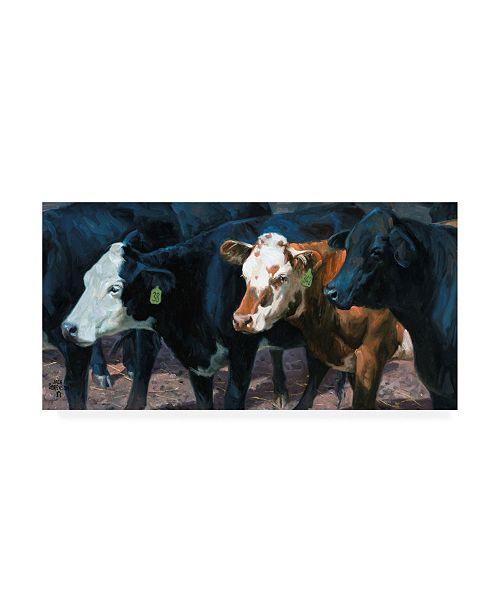 "Trademark Global Jack Sorenson The Gossips Canvas Art - 15"" x 20"""