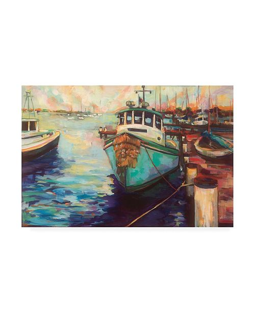 "Trademark Global Jeanette Vertentes at Fords Canvas Art - 36.5"" x 48"""