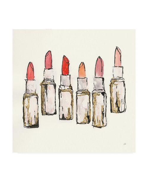 "Trademark Global Chris Paschke Fashion First II Canvas Art - 15.5"" x 21"""