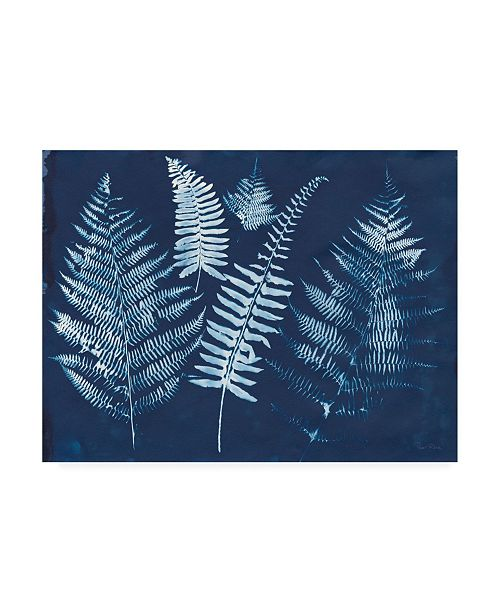 """Trademark Global Piper Rhue Nature By the Lake - Ferns I Canvas Art - 36.5"""" x 48"""""""
