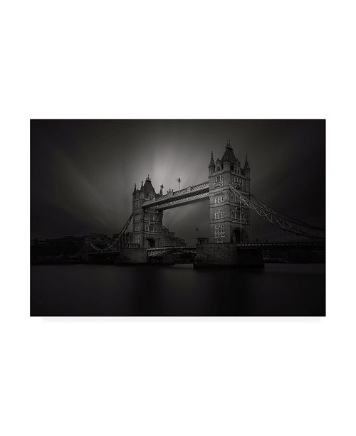"Trademark Global Roberto Pagliari Tower Bridge, Study II Canvas Art - 27"" x 33.5"""