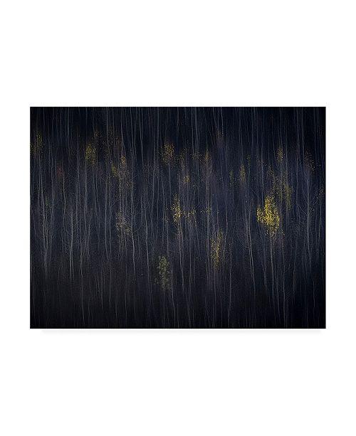 """Trademark Global Mozart Chan Autumn Forest Canvas Art - 15.5"""" x 21"""""""