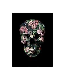 "Design Fabrikken Tropic Skull Fabrikken Canvas Art - 15.5"" x 21"""