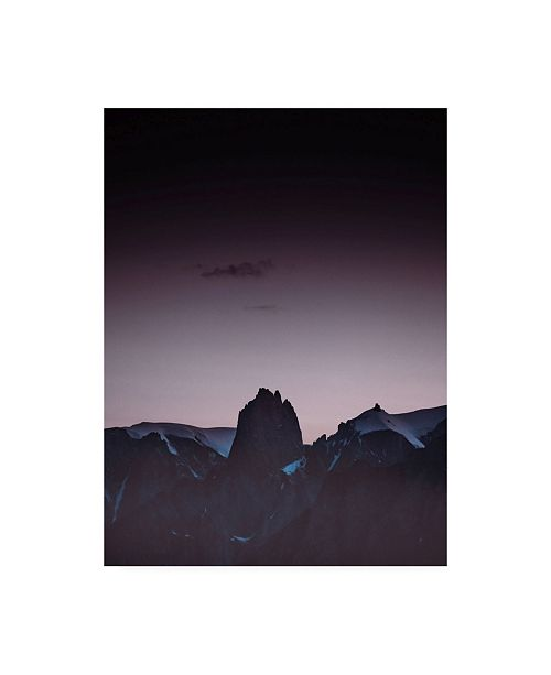 """Trademark Global Design Fabrikken Purple Light 1 Fabrikken Canvas Art - 36.5"""" x 48"""""""
