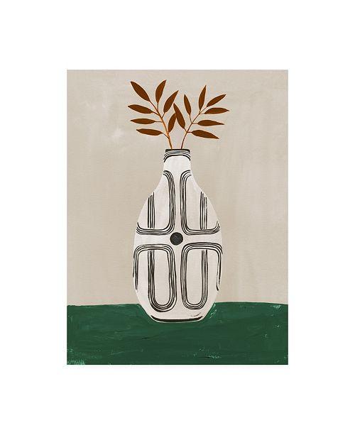 "Trademark Global Megan Galante Emile Vase Canvas Art - 36.5"" x 48"""