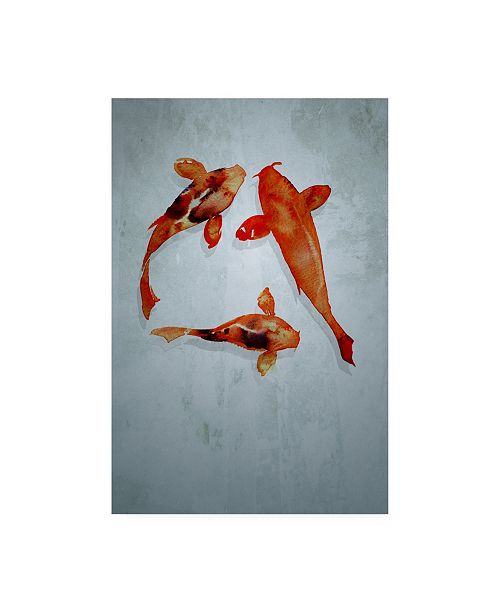 "Trademark Global Incado 3 friends Canvas Art - 15.5"" x 21"""