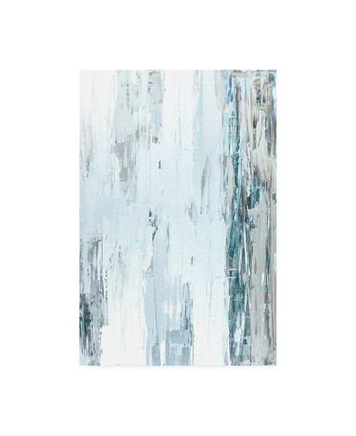 "Trademark Global Incado Abstract Blue I Canvas Art - 19.5"" x 26"""