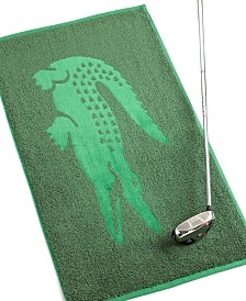 Lacoste Golf Hand Towel