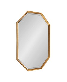 "Calter Elongated Octagon Wall Mirror - 25.5"" x 37.5"""