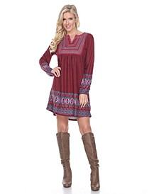 Women's Atarah Embroidered Sweater Dress
