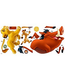 York Wallcoverings The Lion King Peel and Stick Giant Wall Decals