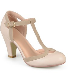 Journee Collection Women's Olina Regular and Wide Width Pumps