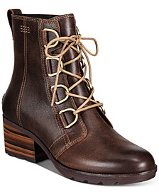 Women's Cate Waterproof Lace-Up Booties