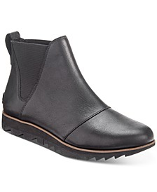 Women's Harlow Chelsea Lug Sole Waterproof Booties