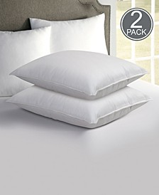 "Hotel Laundry Set of 2 ""Never Goes Flat"" Down Alternative Gel Blend Pillow - King"