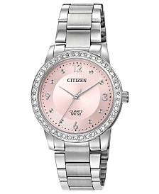 Citizen Women's Quartz Stainless Steel Bracelet Watch 35mm