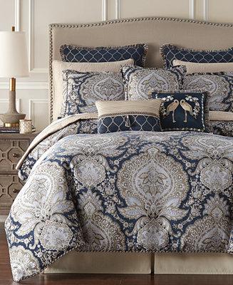 Croscill Valentina California King Comforter Set Reviews Comforters Fashion Bed Bath Macy S