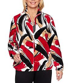 Classics Printed Fleece Jacket