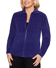 Classics  Cable-Knit Zippered Cardigan
