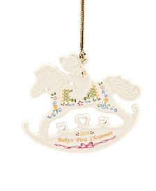 2019 Babys 1st Christmas Rocking Horse Ornament