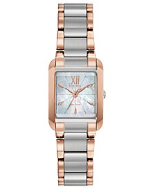 Eco-Drive Women's Bianca Two-Tone Stainless Steel Bracelet Watch 22mm