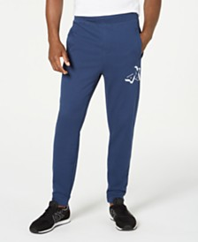 A|X Armani Exchange Men's Fleece Logo Joggers