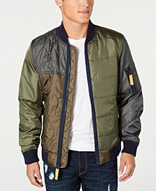 Men's Andre Quilted Bomber Jacket, Created for Macy's
