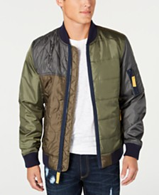 American Rag Men's Andre Quilted Bomber Jacket, Created for Macy's