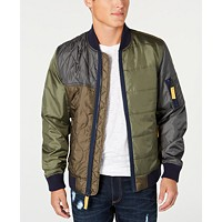 American Rag Men's Andre Quilted Bomber Jacket