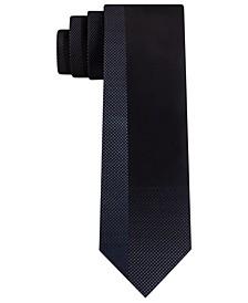 Men's Skinny Shading Blocked Tie