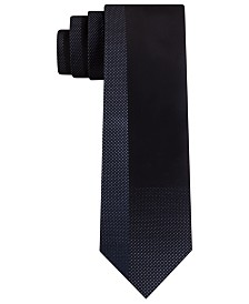Kenneth Cole Reaction Men's Skinny Shading Blocked Tie