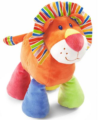 First Impressions Baby Toy, Baby Girls or Baby Boys Bright Plush Lion